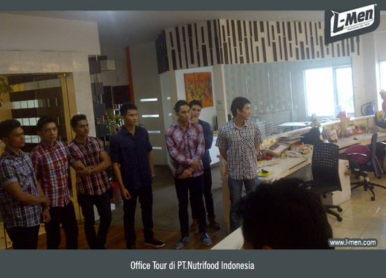 Office Tour di PT.Nutrifood Indonesia