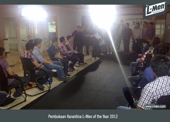 Pembukaan Karantina L-Men of the Year 2012