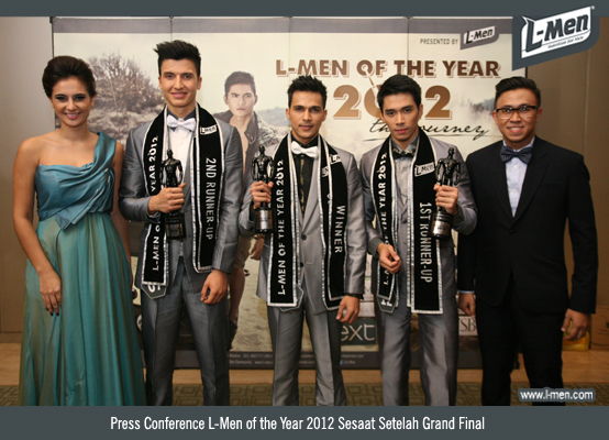 Press Conference L-Men of the Year 2012 Sesaat Setelah Grand Final