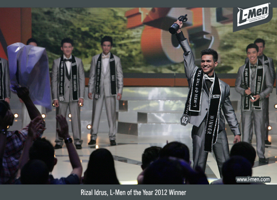 Rizal Idrus, L-Men of the Year 2012 Winner