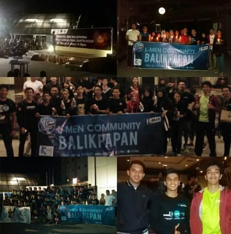 L Men Community Balikpapan Night Run L Men