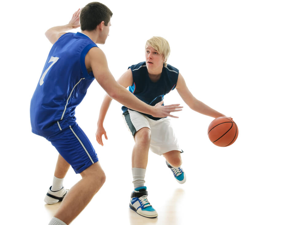 berlari basket