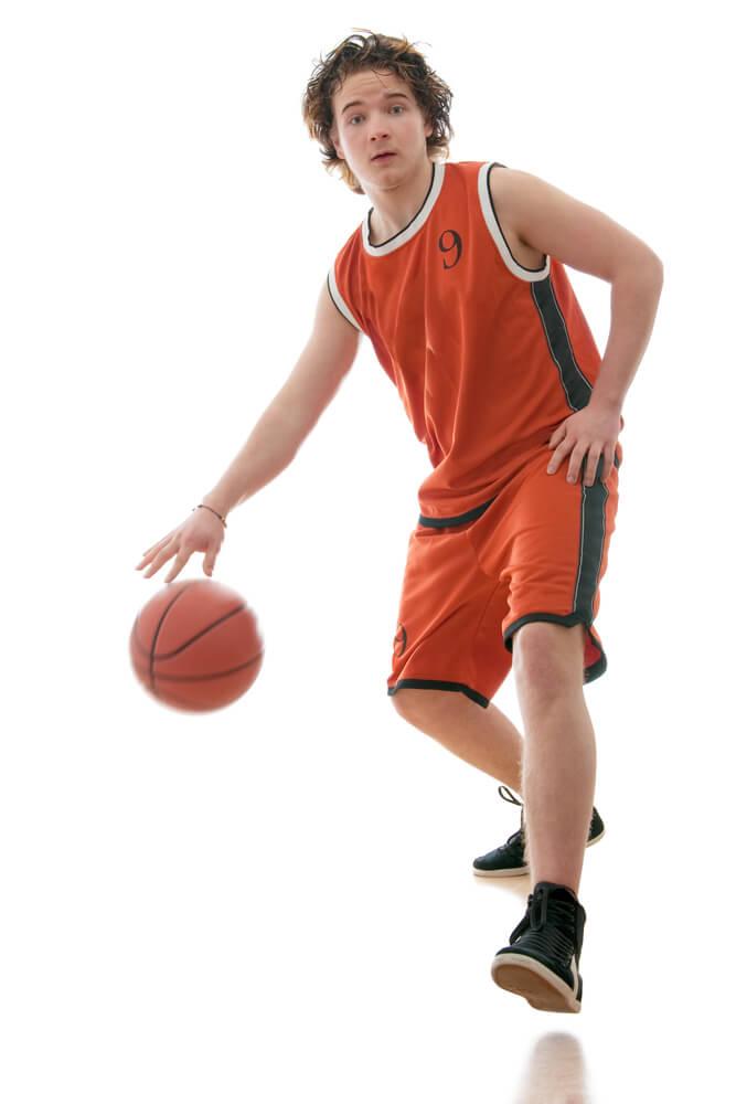 dribbling basket