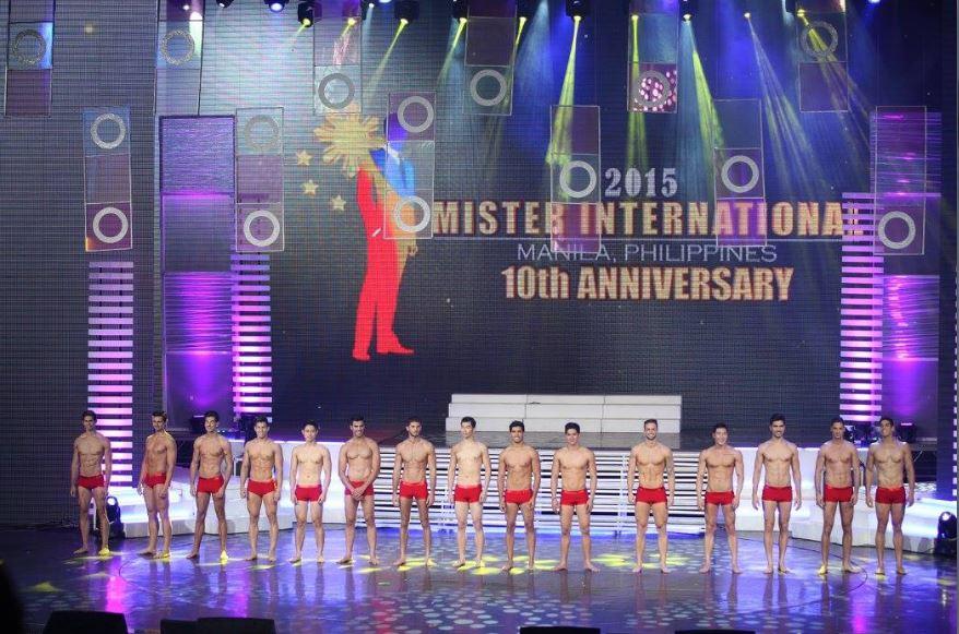 Mister International Top 15 Swimwear